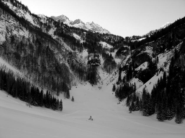 Foto: Manfred Karl / Ski Tour / Über die Gwechenberghütte auf den Sonntagskogel / Zwing / 30.01.2009 22:58:45