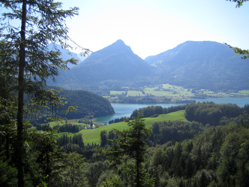 Foto: letsgoactive / Mountainbike Tour / Rund um den Schafberg - über den Falkenstein / Wolfgangsee / 18.04.2007 16:05:27