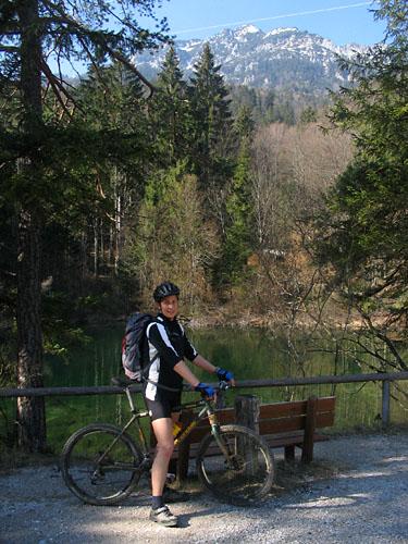 Foto: Lenswork.at / Ch. Streili / Mountainbike Tour / Über die Salinenwege auf die Kaitlalm / 15.03.2007 22:02:31