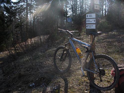 Foto: Lenswork.at / Ch. Streili / Mountainbike Tour / Über die Salinenwege auf die Kaitlalm / 15.03.2007 22:02:18