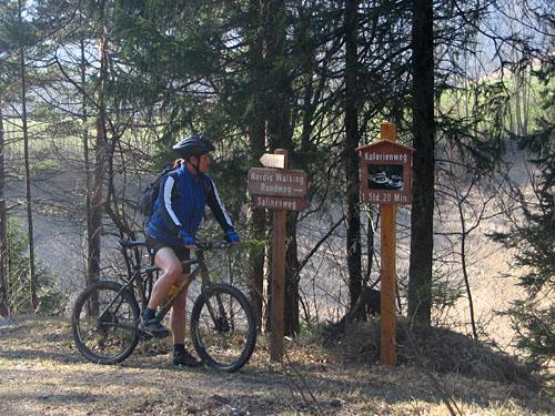 Foto: Lenswork.at / Ch. Streili / Mountainbike Tour / Über die Salinenwege auf die Kaitlalm / 15.03.2007 22:01:48
