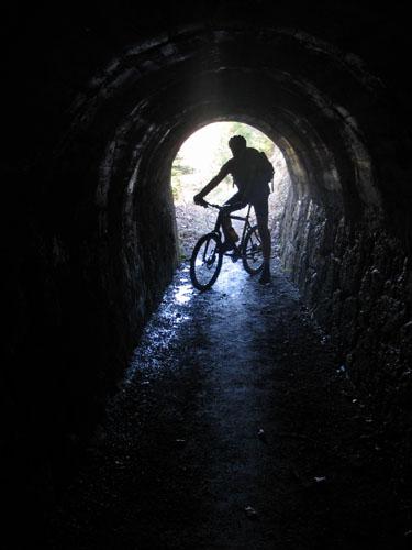 Foto: Lenswork.at / Ch. Streili / Mountainbike Tour / Über die Salinenwege auf die Kaitlalm / 15.03.2007 22:01:33