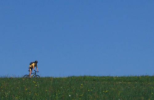 Foto: Lenswork.at / Ch. Streili / Mountainbike Tour / Rund um den Gaisberg / 23.04.2007 22:57:20
