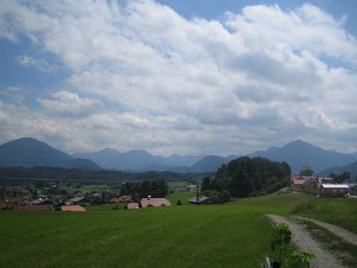 Foto: Hari M. / Mountainbike Tour / Rund um den Gaisberg / Weg zwischen Koppl und Guggenthal / 28.12.2006 10:21:01