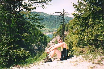 Foto: Jogal / Mountainbike Tour / Rund um den Wolfgangsee über Eisenaueralm u. Schwarzensee / Mondsee / 08.05.2007 08:02:45