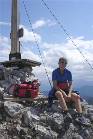 Foto: Werner / Mountainbiketour / Laudachsee - Grünberg / ... bis zum Gipfel des Katzensteins / 18.03.2007 11:28:46