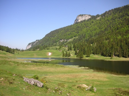 Foto: Salzprinz / Mountainbiketour / Osterhorn-Route von Abtenau - Voglau / Seewaldsee / 08.01.2007 23:19:09