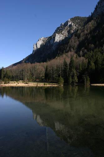 Foto: Lenswork.at / Ch. Streili / Mountainbike Tour / Von Salzburg zur Winklmoosalm und zurück (Tag 2) / Falkensee bei Inzell / 23.04.2007 23:18:05