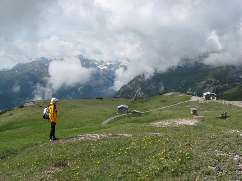 Foto: mucho / Mountainbike Tour / Von Trins auf den Blaser, 2241m / Blaser Hütte / 11.06.2007 14:44:50
