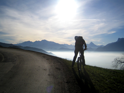 Foto: letsgoactive / Mountainbike Tour / Von Salzburg/Aigen auf den Gaisberg / 18.04.2007 15:19:58
