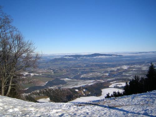 Foto: letsgoactive / Mountainbike Tour / Von Salzburg/Aigen auf den Gaisberg / Vom Gaisbergspitz ins Alpenvorland - Koppl / 05.01.2007 18:24:03