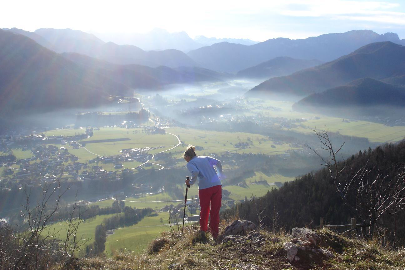 Foto: Werner / Wander Tour / Über die Mollnerhütte auf das Dürre Eck / und Tiefblick auf Molln / 02.01.2007 20:48:05