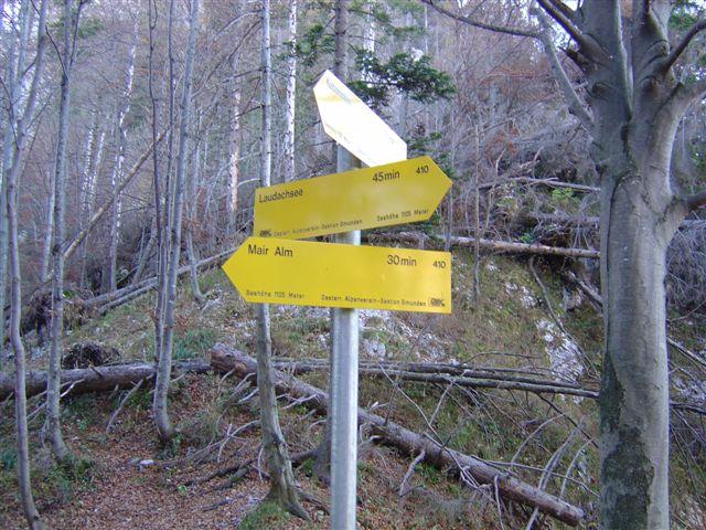 Foto: Alpinfreunde / Wander Tour / Rund um den Traunstein / 19.04.2007 19:26:56