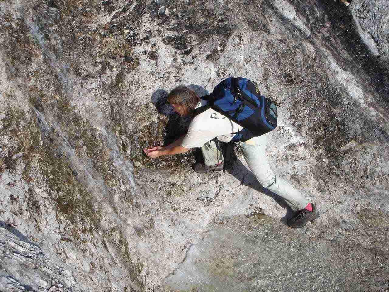 Foto: Manfred Karl / Wander Tour / Auf den Zwölfer über den Grießkarsteig / Gelegenheiten nützen. / 18.05.2007 14:40:34