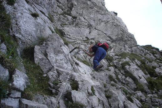 Foto: Werner / Wander Tour / Über den Hans-Hernler-Steig auf den Traunstein, über den Naturfreundesteig herunter / Naturfreundesteig / 02.01.2007 20:22:12
