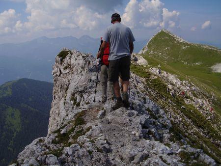 Foto: Rucki / Wandertour / Oberst-Klinke-Hütte - Admonter Kalbling - Sparafeld / Grat zwischen Kalbling und Sparafeld / 24.02.2007 13:26:01