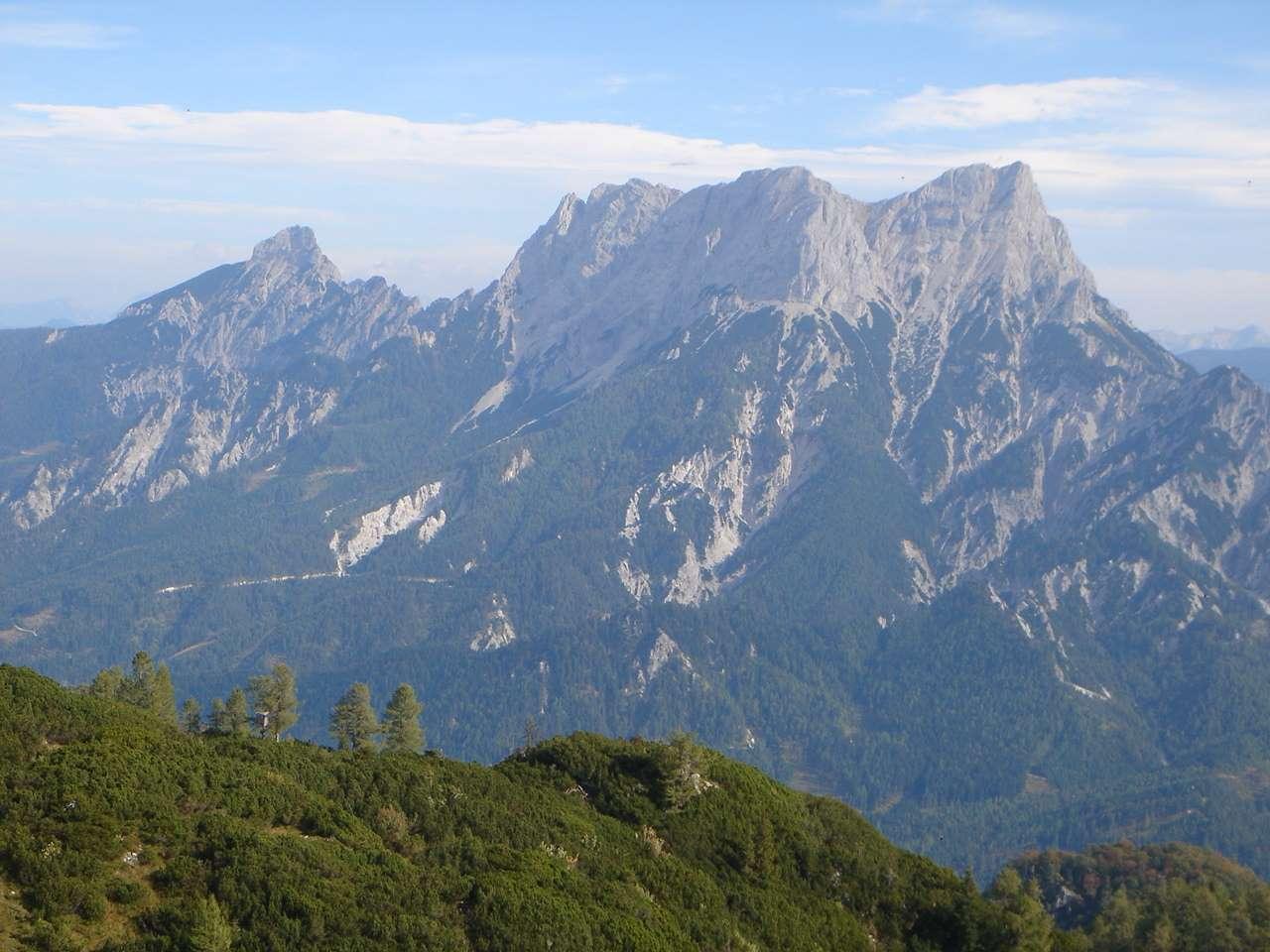 Foto: Manfred Karl / Wander Tour / Grabnerstein - Gipfelrunde / Abstieg vom Grabnerstein / 18.05.2007 14:47:43
