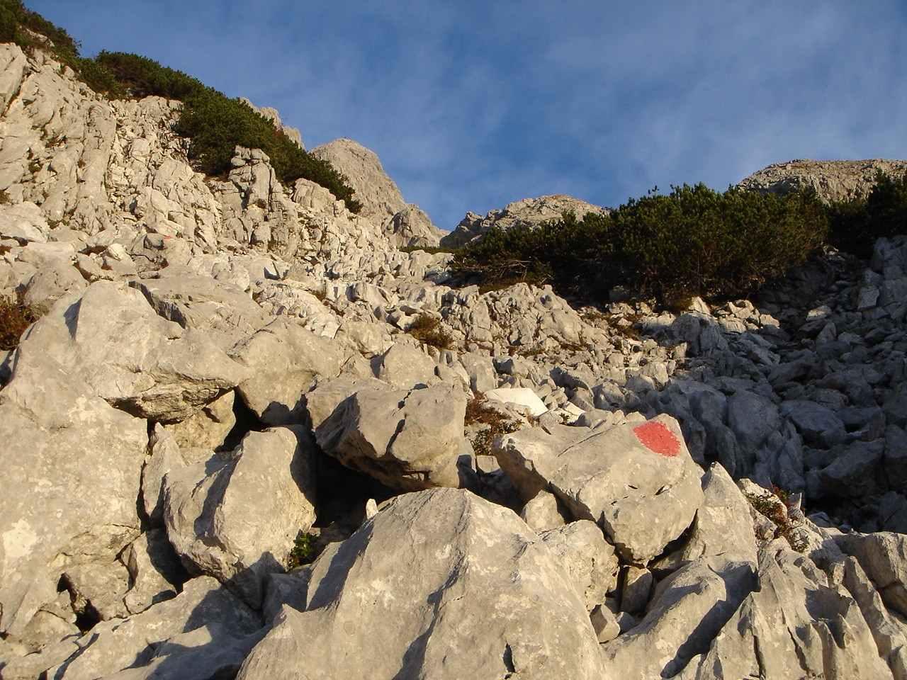 Foto: Manfred Karl / Wander Tour / Über das Prielschutzhaus und den Bert-Rinesch-Klettersteig auf den Gr.Priel / Zustieg zum Klettersteig / 15.06.2007 23:26:55