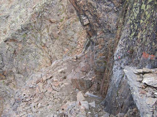 Foto: vince 51 / Wander Tour / Von der Chemnitzer Hütte auf dem Mainzer Höhenweg zur Braunschweiger Hütte / 02.05.2007 21:52:43
