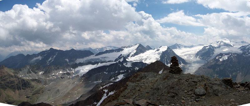 Foto: vince 51 / Wander Tour / Von der Chemnitzer Hütte auf dem Mainzer Höhenweg zur Braunschweiger Hütte / 02.05.2007 22:07:16
