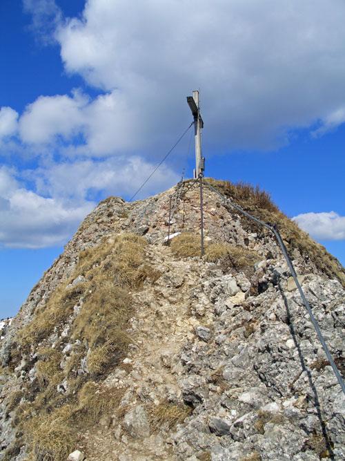 Foto: vince 51 / Wander Tour / Von Linderhof auf den Brunnenkopf / Die letzten Meter / 06.04.2007 22:56:29