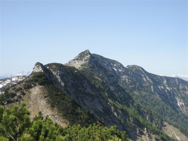 Foto: Jogal / Wander Tour / Überschreitung der Hohen Schrott / Am Weg zum Bannkogel; dieser Grad ist zu meistern die letzte Erhebung ist die Hohe Schrott / 22.05.2007 06:10:33