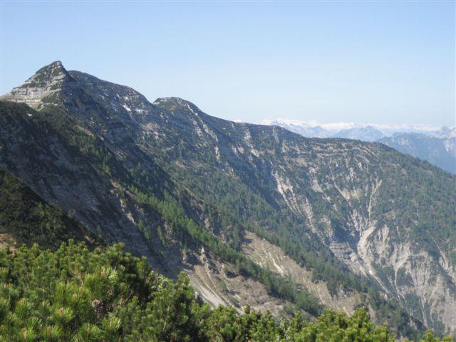 Foto: Jogal / Wander Tour / Überschreitung der Hohen Schrott / Am Weg zum Bannkogel; dieser Grad ist zu meistern die letzte Erhebung ist die Hohe Schrott / 22.05.2007 06:10:44