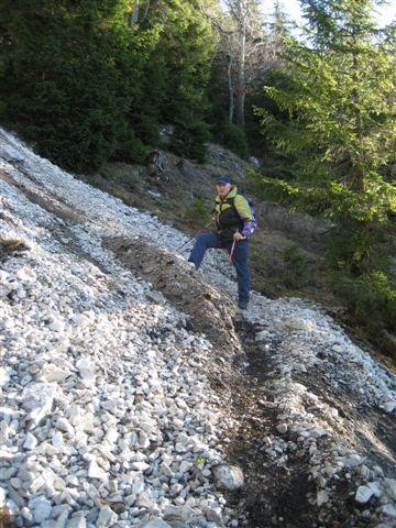 Foto: Jogal / Wander Tour / Über den NW-Grat auf den Schober - Aussichtskanzel mit Sieben-Seen-Blick, 1328m / 17.01.2007 01:26:43