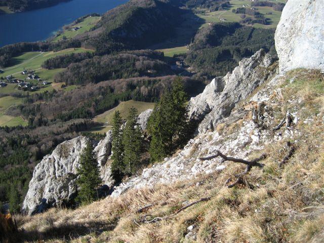 Foto: Jogal / Wander Tour / Über den NW-Grat auf den Schober - Aussichtskanzel mit Sieben-Seen-Blick, 1328m / 17.01.2007 01:27:56