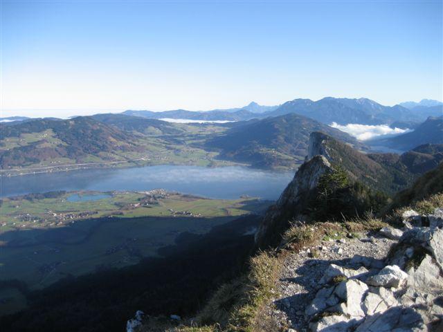 Foto: Jogal / Wander Tour / Über den NW-Grat auf den Schober - Aussichtskanzel mit Sieben-Seen-Blick, 1328m / 17.01.2007 01:28:19