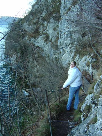 Foto: Jogal / Wander Tour / Miesweg am O-Ufer des Traunsees, 480m / 19.04.2007 06:31:05