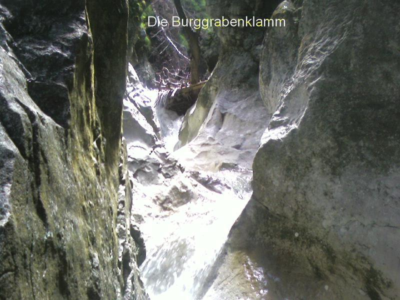 Foto: bergschnecke / Wander Tour / Durch die Burggrabenklamm auf die Eisenauer Alm, 1015m / 24.07.2007 21:52:57