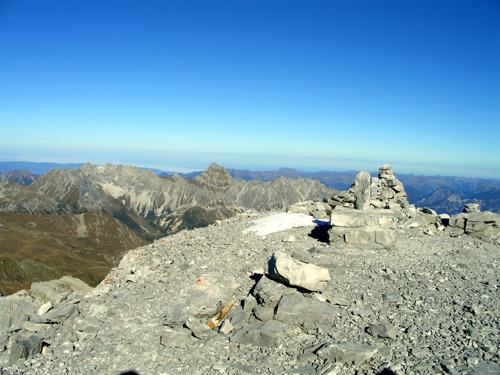 Foto: vince 51 / Wander Tour / Grosser Drusenturm, 2830m / Gipfel Grosser Turm / 28.01.2007 21:22:24
