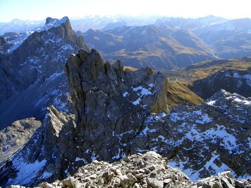 Foto: vince 51 / Wander Tour / Grosser Drusenturm, 2830m / Kleiner Turm und Sulzfluh / 28.01.2007 21:20:47