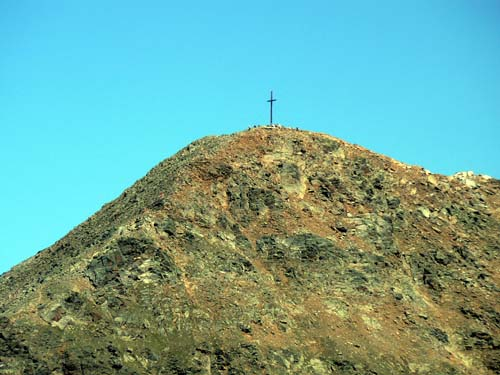 Foto: vince 51 / Wander Tour / Furgler - Wanderdreitausender mit schönen Natureindrücken (3004m) / Furglergipfel von Süden / 05.06.2007 21:37:12