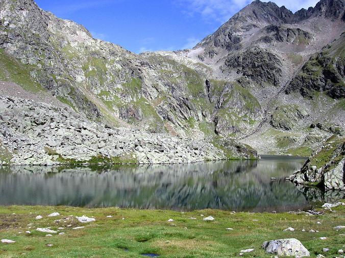 Foto: Andreas Koller / Wander Tour / Petzeck - höchster Gipfel der Schobergruppe (3283 m) / Wangenitzsee und Kreuzseescharte / 18.08.2007 12:43:35