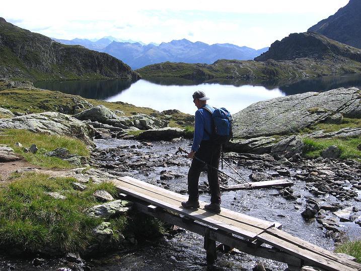 Foto: Andreas Koller / Wander Tour / Petzeck - höchster Gipfel der Schobergruppe (3283 m) / Beim Wangenitzsee / 18.08.2007 12:42:58