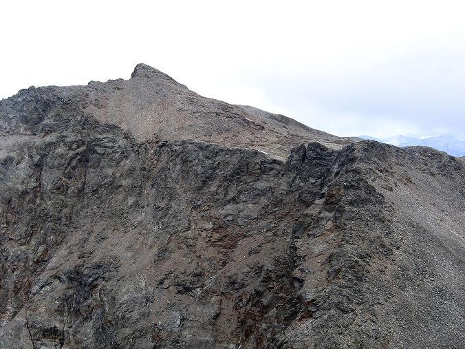 Foto: Andreas Koller / Wander Tour / Petzeck - höchster Gipfel der Schobergruppe (3283 m) / Der Gipfelaufbau des Petzecks / 18.08.2007 12:42:21