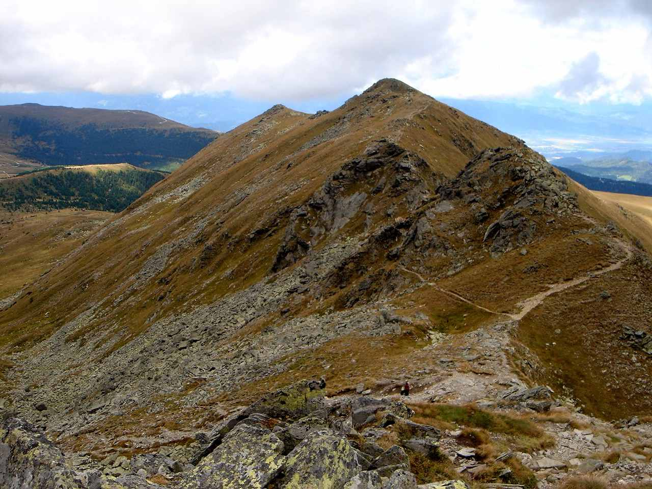 Foto: Manfred Karl / Wander Tour / Kreiskogel - Zirbitzkogel / Abstieg vom Scharfen Eck / 19.06.2007 05:46:25