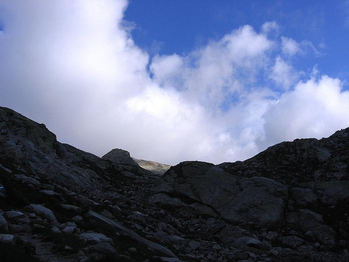 Foto: Andreas Koller / Wander Tour / Stubacher Sonnblick (3088 m) / Blauer Himmer über der Hohen Fürlegg (2947 m) / 17.08.2007 13:18:39