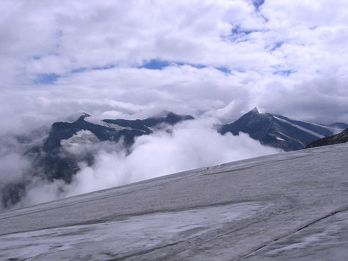 Foto: Andreas Koller / Wander Tour / Stubacher Sonnblick (3088 m) / Blick nach SO in die Glocknergruppe / 17.08.2007 13:15:32