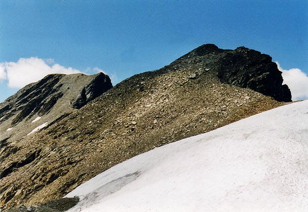 Foto: vince 51 / Wander Tour / Glockturm (3353m) / Glockturm vom Riffeljoch / 06.06.2007 20:35:22