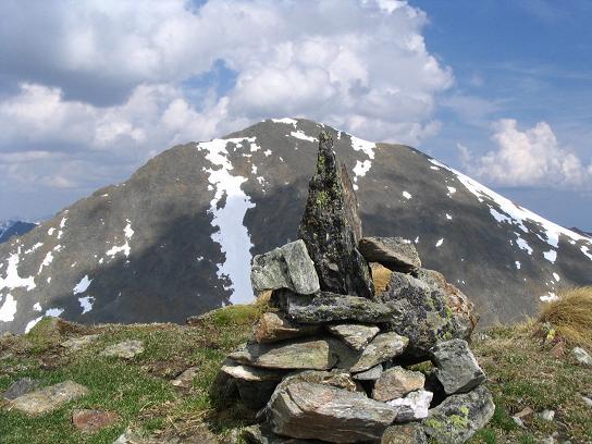 Foto: Andreas Koller / Wander Tour / Preber und Golzhöhe (2740 m) / Preber von der Golzhöhe / 09.05.2007 17:17:26