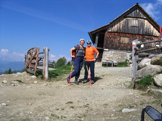 Foto: Andreas Koller / Wander Tour / Preber und Golzhöhe (2740 m) / Die Prebrehalterhütte / 09.05.2007 17:14:12