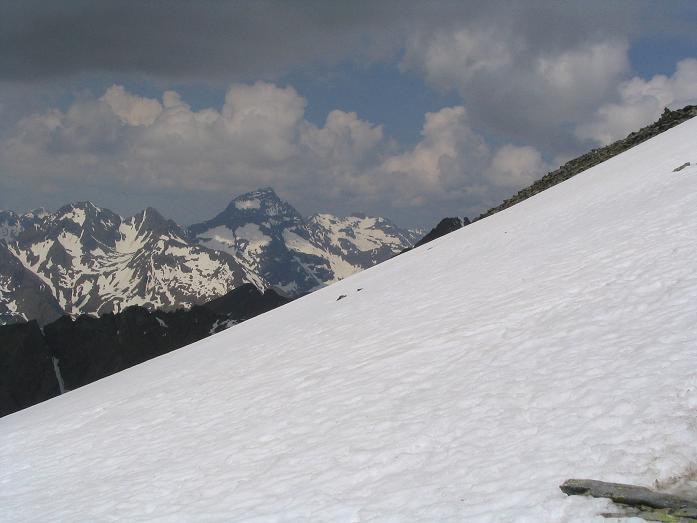 Foto: Andreas Koller / Wandertour / Preber und Golzhöhe (2740 m) / Blick auf den Hochgoling (2863 m) / 09.05.2007 17:14:53