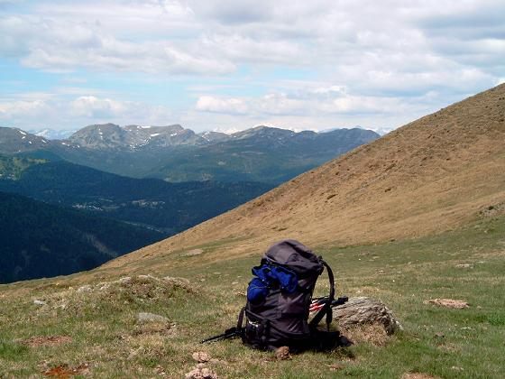 Foto: Andreas Koller / Wandertour / Große Turracher Gipfel-Runde (2441 m) / Blick auf den Kilnprein (2404 m) / 09.05.2007 21:08:50