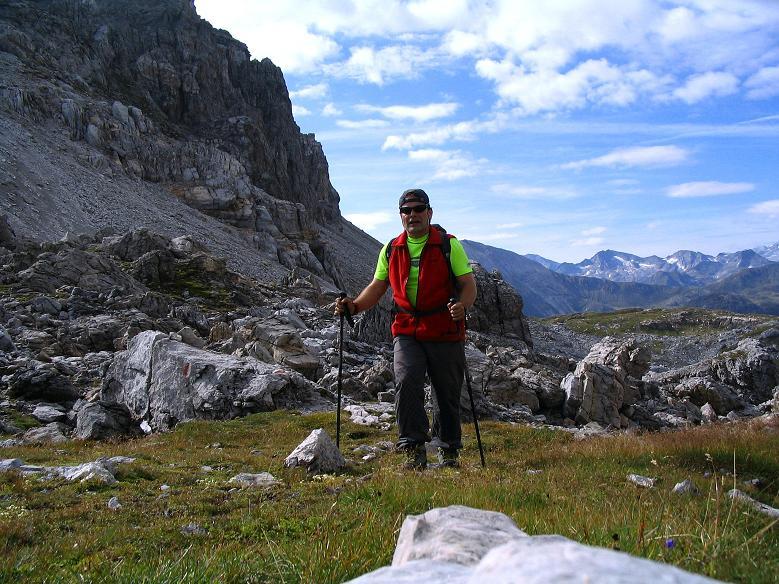 Foto: Andreas Koller / Wander Tour / Aus dem Riedingtal im Lungau auf das Mosermandl (2680 m) / In der Windischscharte / 17.08.2007 10:32:23
