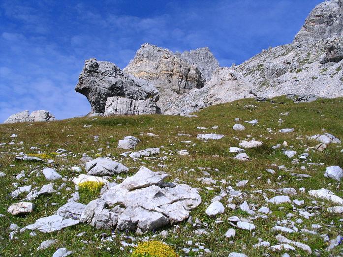 Foto: Andreas Koller / Wander Tour / Aus dem Riedingtal im Lungau auf das Mosermandl (2680 m) / Die Windischscharte / 17.08.2007 10:32:07
