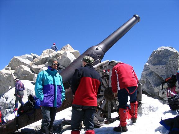 Foto: Andreas Koller / Wander Tour / Cresta Croce und Cannone 149 (3330 m) / Die Canone 149 / 15.05.2007 23:35:38