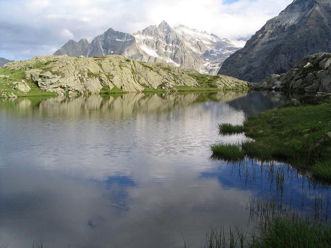 Foto: Andreas Koller / Wander Tour / Cresta Croce und Cannone 149 (3330 m) / Lago di Mandrone / 15.05.2007 23:32:47
